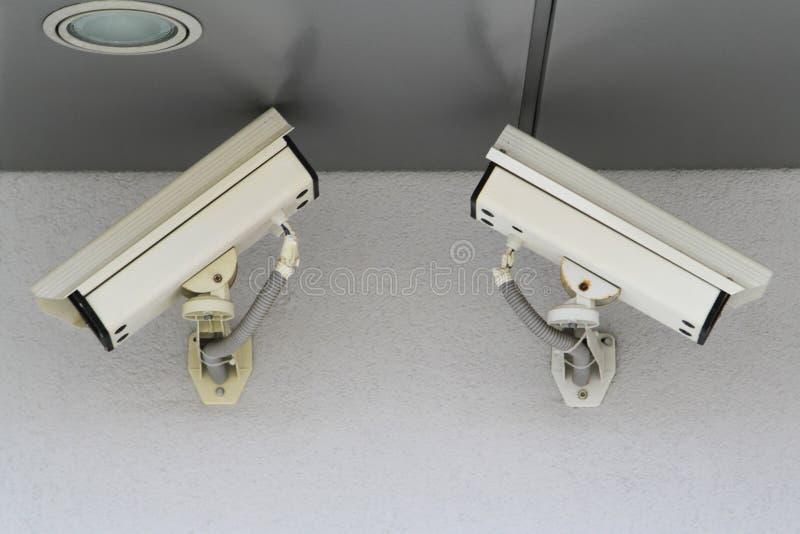Macchine fotografiche del CCTV immagine stock
