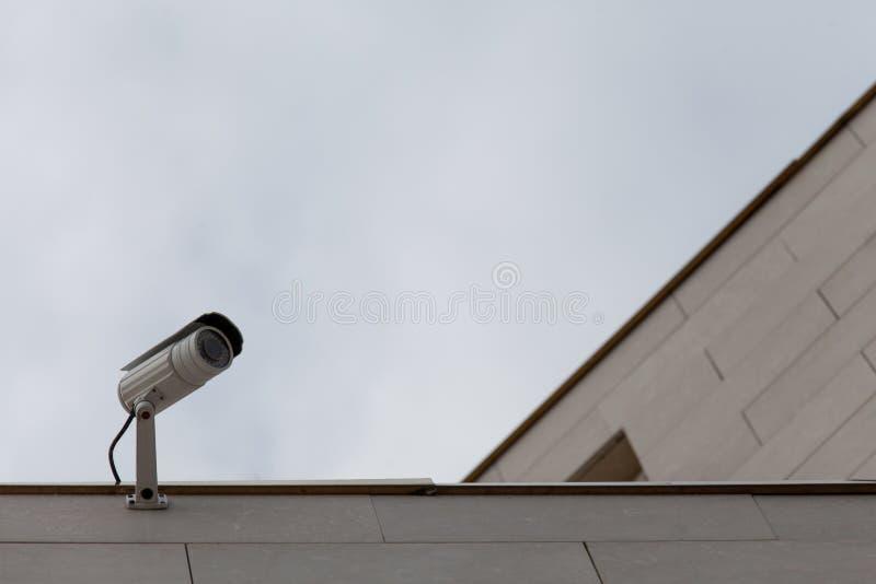 Macchine fotografiche sorveglianza, idea per sicurezza, oggetto protetto fotografie stock libere da diritti