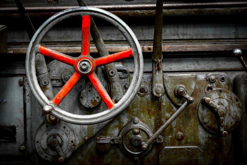Macchine industriali in una fabbrica fotografia stock libera da diritti