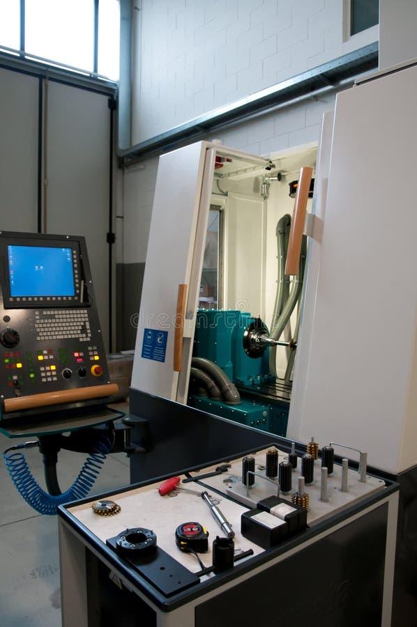 Macchine utensili con controllo numerico di computer & x28; CNC& x29; immagini stock
