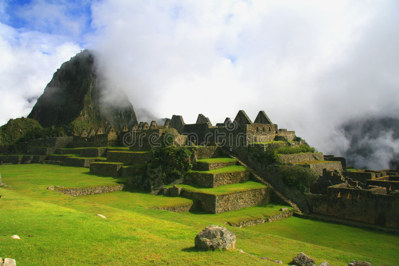 Macchu Picchu photo libre de droits