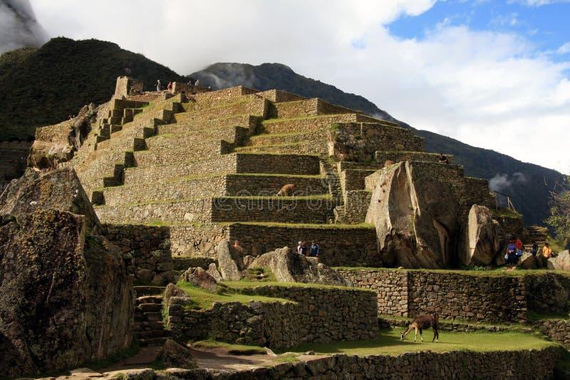 Macchu Picchu image libre de droits