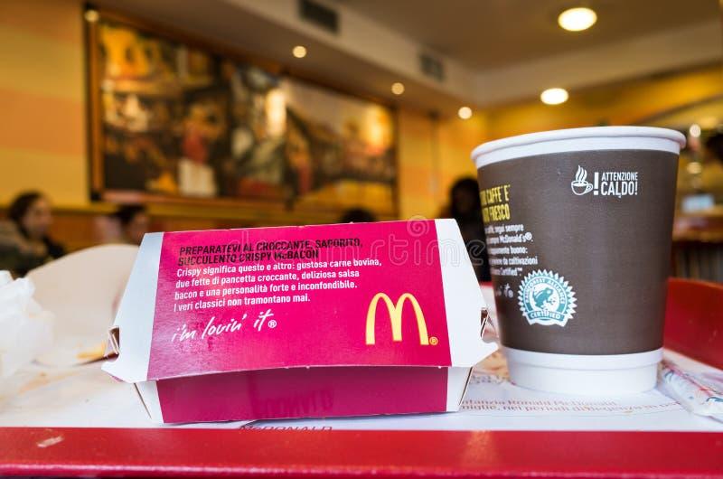 MacDonalds fotografia royalty free
