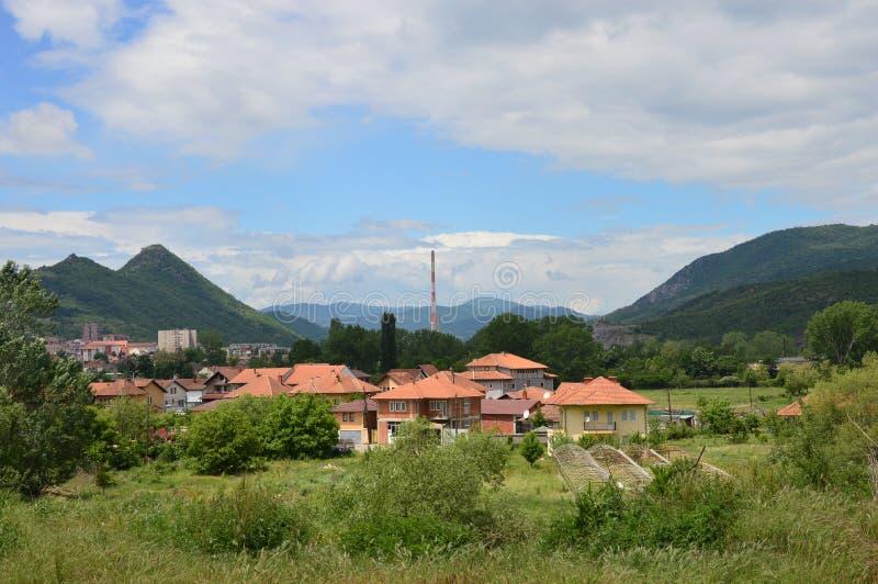 Macedońska wieś zdjęcia royalty free