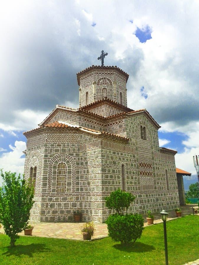 Macedoński kościół fotografia royalty free