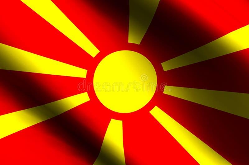 macedonia royalty ilustracja