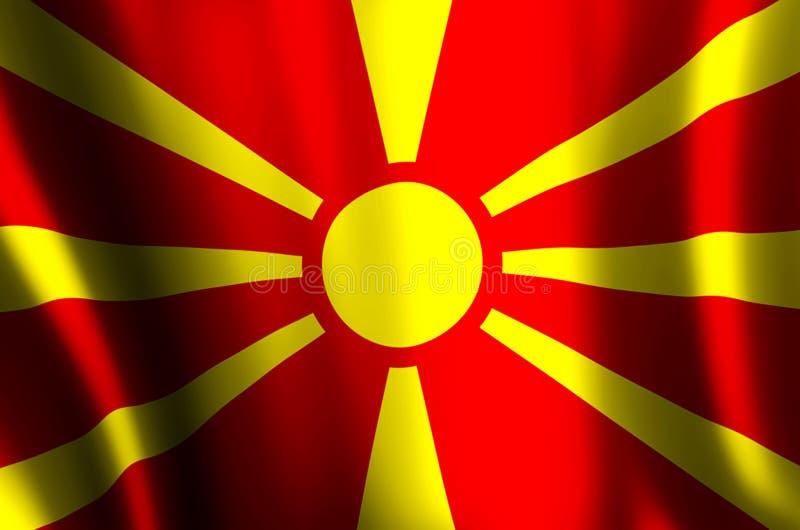 macedonia stock de ilustración