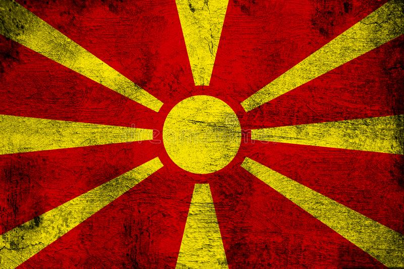 macedonia ilustracja wektor