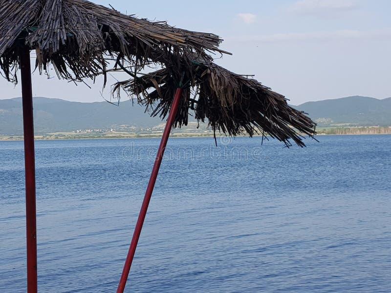 Macedonia intemporal, dojran, lago del doyran imagenes de archivo