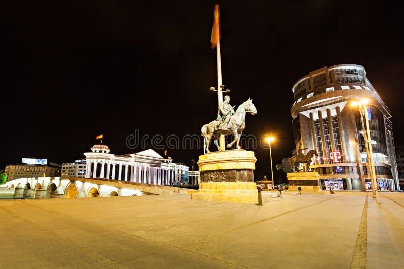 Macedonia kwadrat fotografia stock
