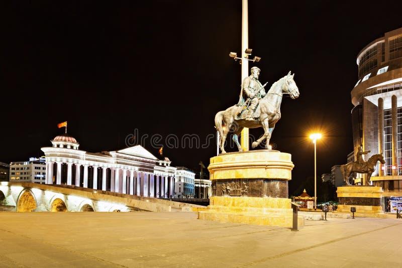 Macedonia kwadrat obraz stock