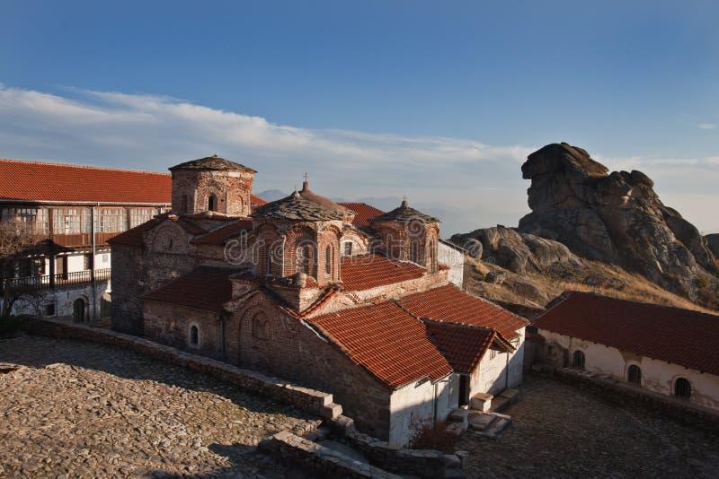 macedonia monasterów prilep treskavec zdjęcia royalty free