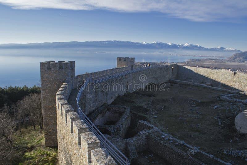macedonia ohrid obraz royalty free