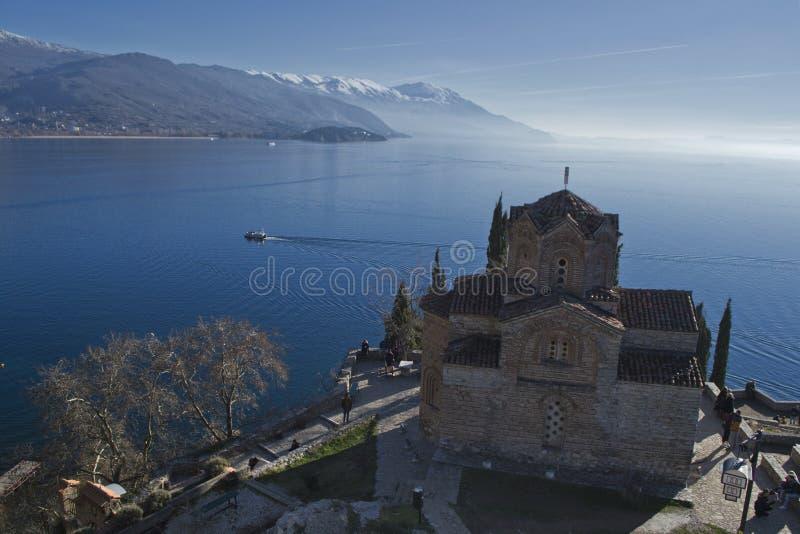 macedonia ohrid zdjęcie stock