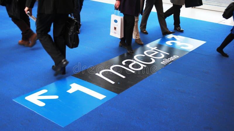 Macef, exposição Home internacional 2010 da mostra foto de stock