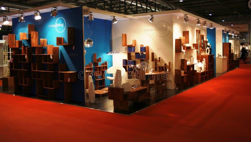 Macef, exposição Home internacional 2010 da mostra fotografia de stock