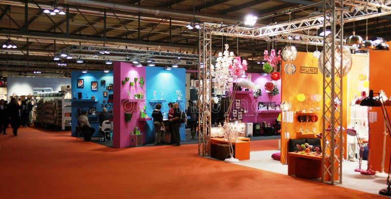 Macef, exposição Home internacional 2010 da mostra fotos de stock royalty free