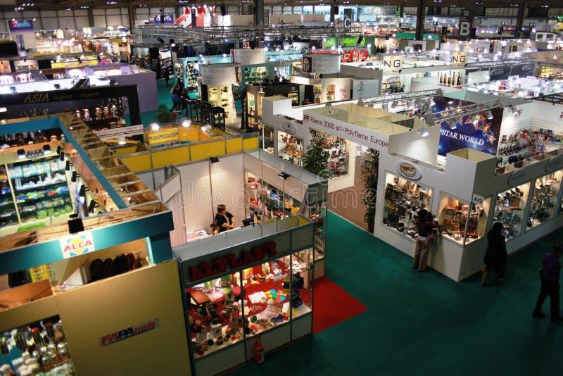 Macef, exposição Home internacional 2010 da mostra imagens de stock royalty free