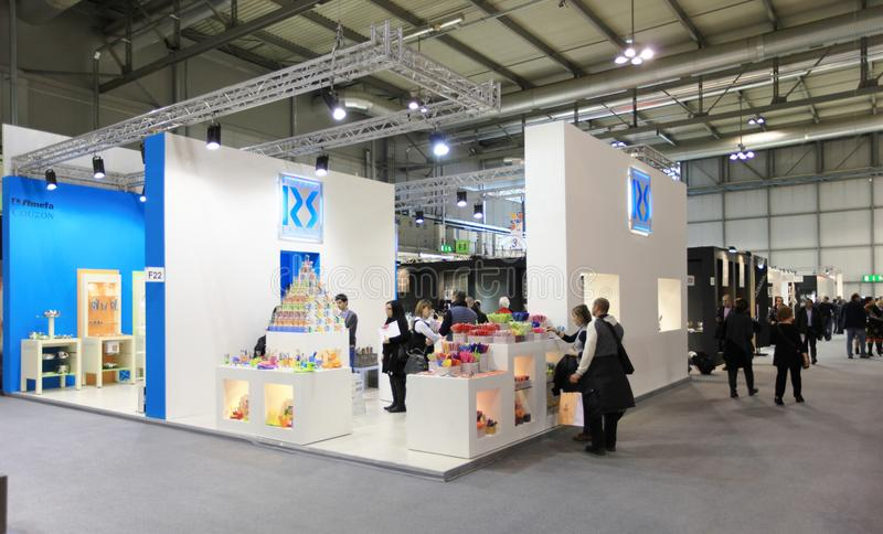 Macef, exposição Home internacional 2011 da mostra imagens de stock royalty free