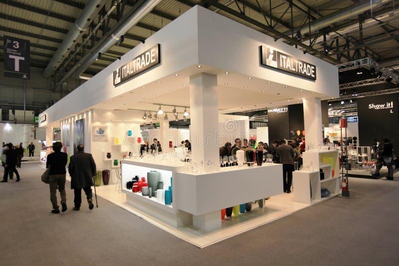 Macef, exposición casera internacional 2011 de la demostración foto de archivo libre de regalías