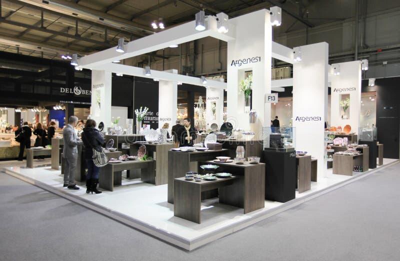 Macef, mostra domestica internazionale 2011 di esposizione immagine stock libera da diritti