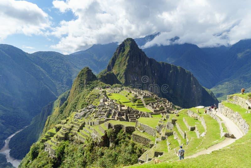 MACH PICCHU, CUSCO, PERU zdjęcie stock