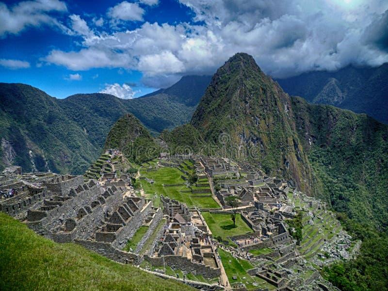 Mach Picchu Peru Cusco fotografia stock