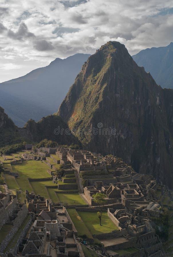 Mach Picchu widzieć od Huayna Picchu zdjęcia royalty free