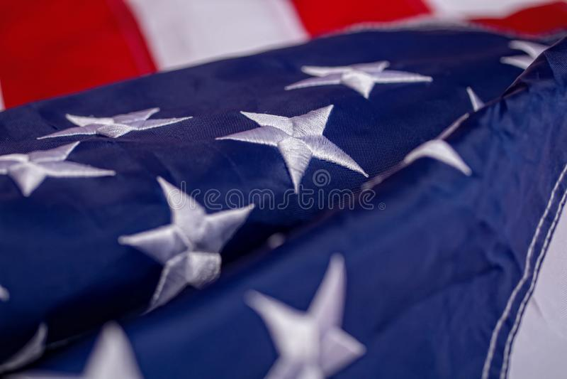 macha? ameryka?skiej flagi zdjęcie royalty free