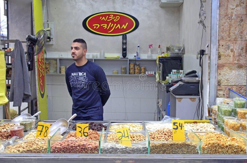 Machane Yehuda Market in Jerusalem, Israel stockfotografie