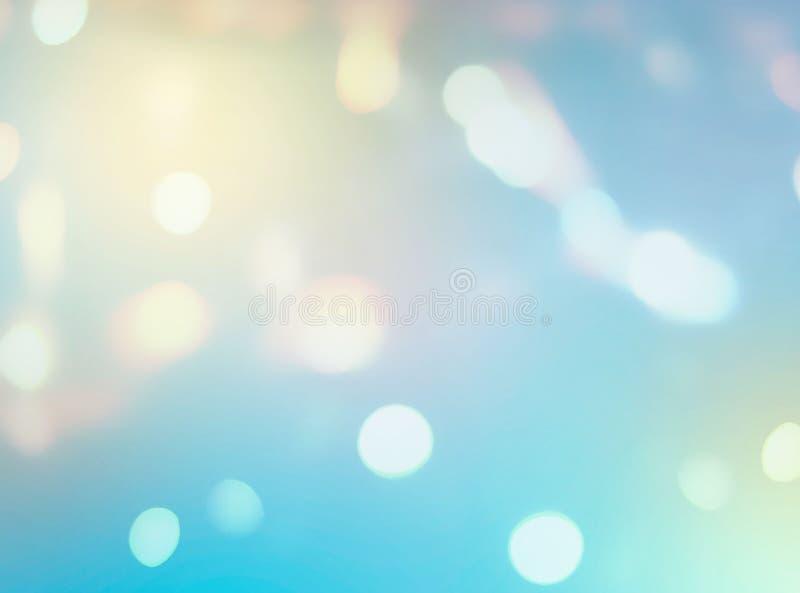 Machen Sie abstrakten Steigungshintergrund mit Lichteffekt des blauen gelben Weißfarbdigitalen grafischen Fahne Lichtgrellen glan lizenzfreie stockfotos