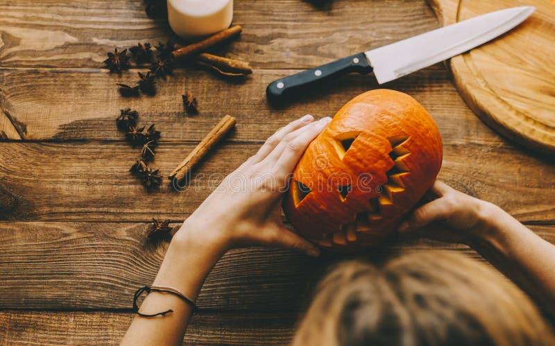 Machen Sie ein Halloween stockfotografie
