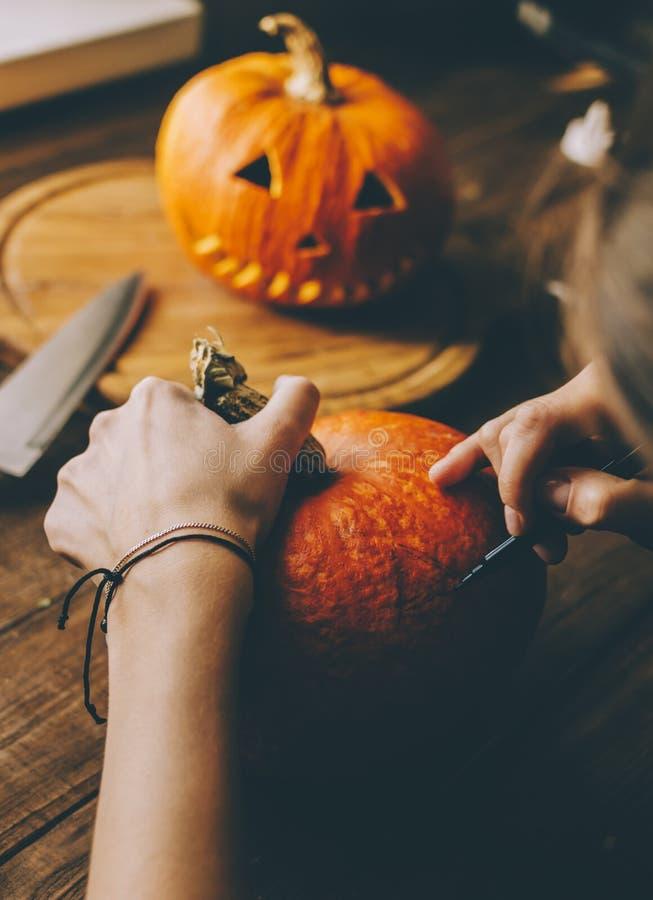 Machen Sie ein Halloween lizenzfreie stockfotos