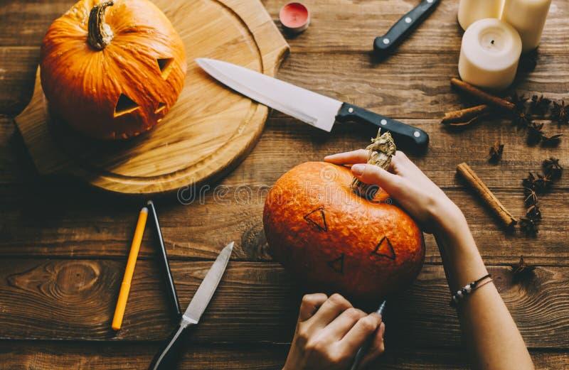 Machen Sie ein Halloween stockfoto