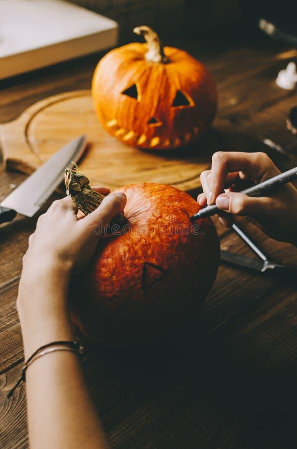 Machen Sie ein Halloween lizenzfreie stockfotografie