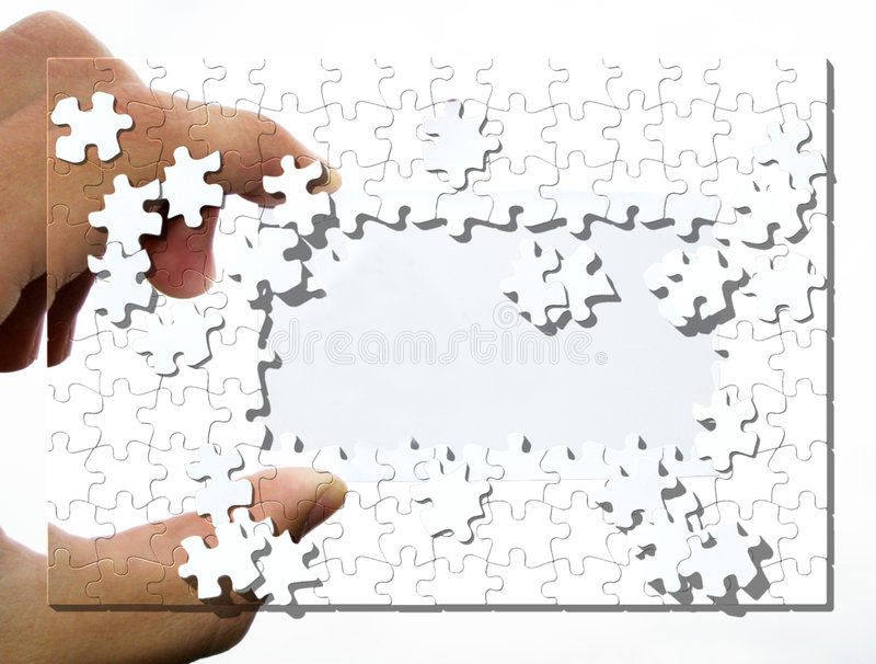 Download Machen Sie Hand bekannt stock abbildung. Illustration von einlage - 861311