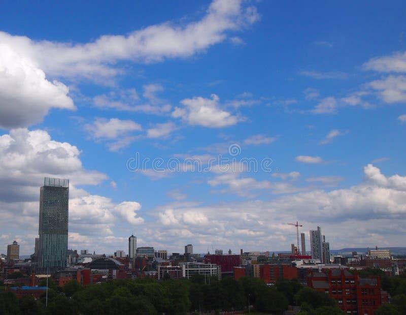 Download Machester UK panorama obraz stock. Obraz złożonej z nowożytny - 57670599
