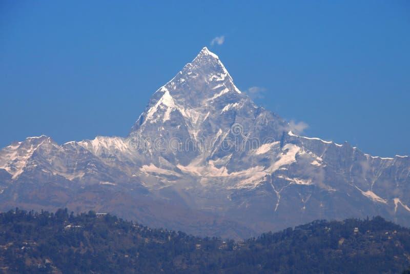 Machhapuchhre Himal imagen de archivo libre de regalías