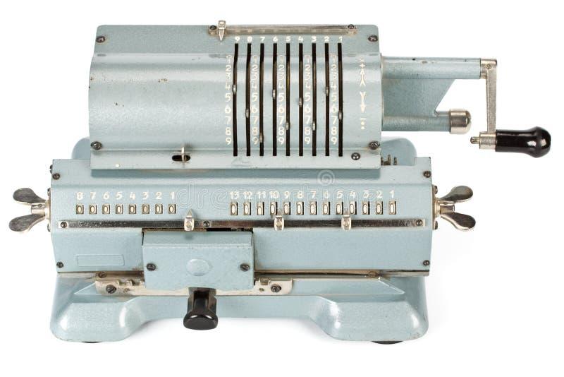 machinalny kalkulatora rocznik fotografia royalty free