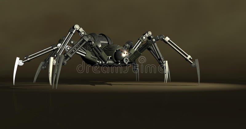 machinalny pająk royalty ilustracja