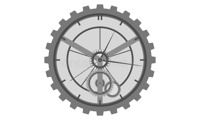 machinalny zegarek obraz stock