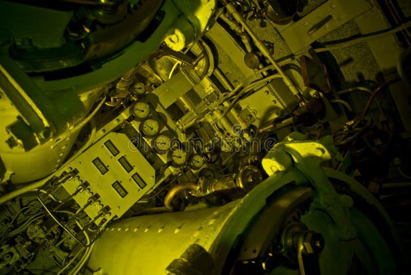 Machinary submarino fotos de stock royalty free
