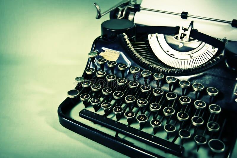 Machine à écrire antique photo libre de droits