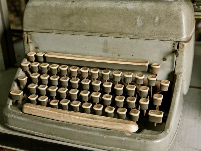 Machine à écrire de vintage photographie stock