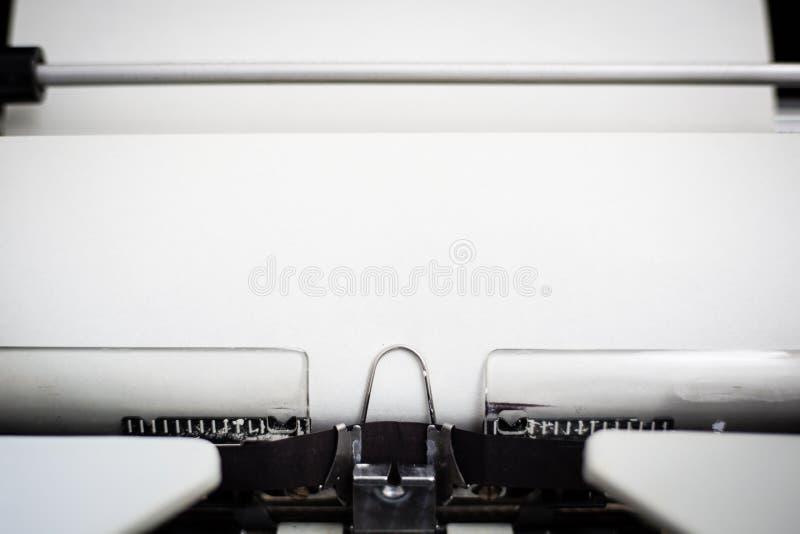 Machine à écrire portative, vers 1970 photographie stock libre de droits