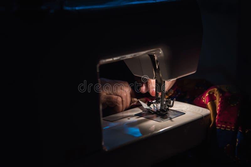 Machine à coudre images libres de droits