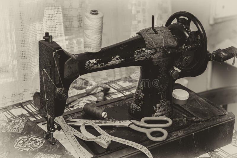 Machine à coudre photo libre de droits