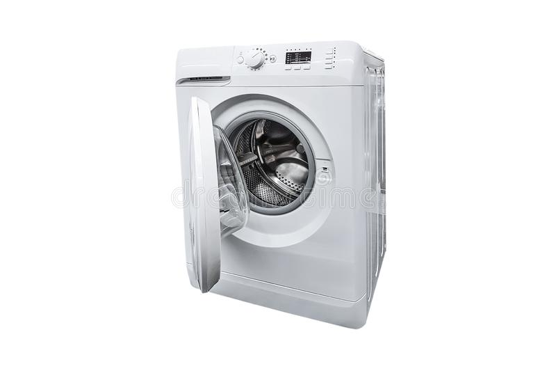 Machine à laver moderne photographie stock