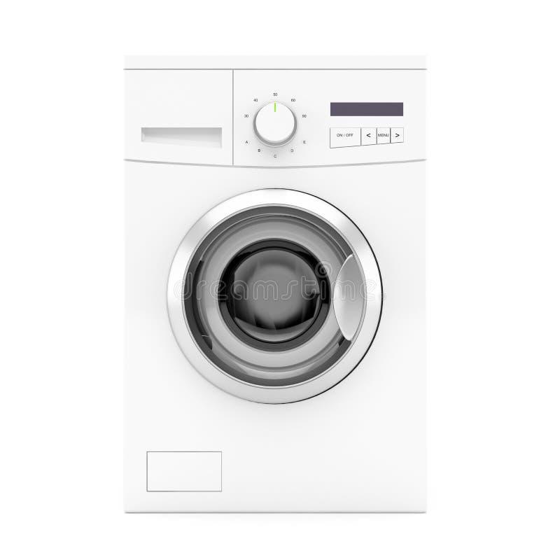 Machine à laver - vue de face illustration de vecteur