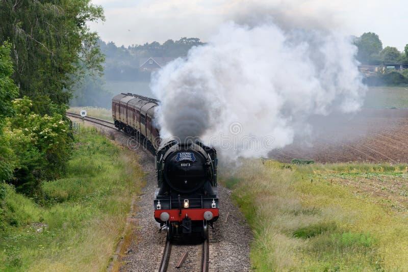 Machine à vapeur volante de Scotsman photo libre de droits